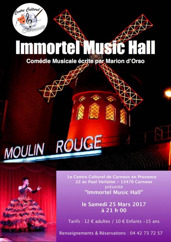 Immortel music hall