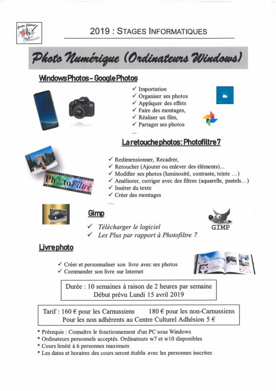 Stageinformatique